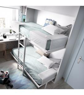 Cabezal abatible cama horizontal