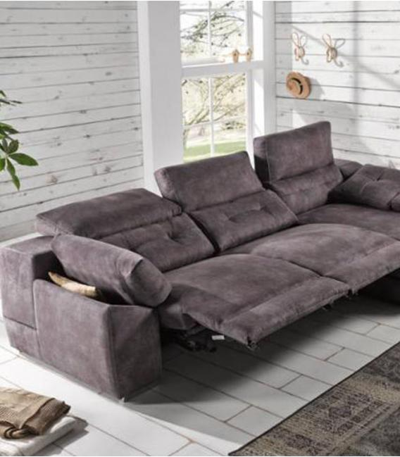 Sofá chaise longue relax Donosti de ACOMODEL