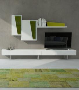 Ambiente de salón modelo DYNA D22 de GISMOBEL