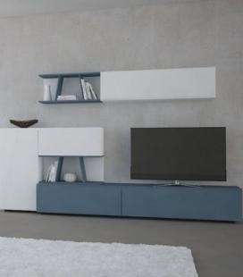 Ambiente de salón modelo DYNA D13 de GISMOBEL