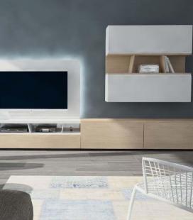 Ambiente de salón modelo DYNA D09 de GISMOBEL