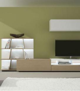 Mueble de salón modelo DYNA D07 de GISMOBEL