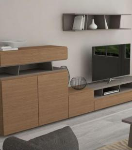 Ambiente de salón modelo DYNA D03 de GISMOBEL