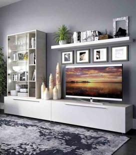 Ambiente de salón modelo DUO 71 estilo moderno de RIMOBEL