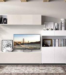 Ambiente de salón modelo DUO 64 estilo moderno de RIMOBEL