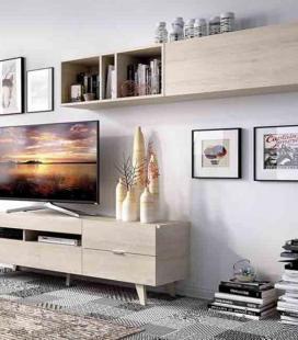 Ambiente de salón modelo DUO 62 estilo moderno de RIMOBEL