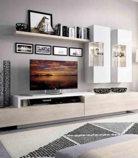 Ambiente de salón modelo DUO 61 estilo moderno de RIMOBEL