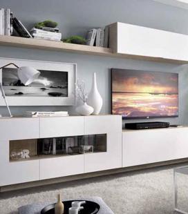 Ambiente de salón modelo DUO 59 estilo moderno de RIMOBEL