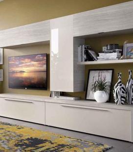Ambiente de salón modelo DUO 57 estilo moderno de RIMOBEL