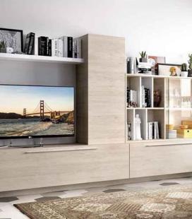 Ambiente de salón modelo DUO 54 estilo moderno de RIMOBEL