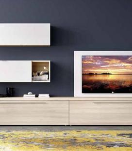 Ambiente de salón modelo DUO 53 estilo moderno de RIMOBEL