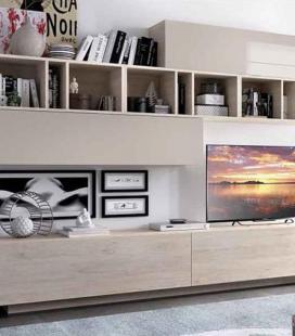 Ambiente de salón modelo DUO 52 estilo moderno de RIMOBEL