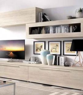 Ambiente de salón modelo DUO 51 estilo moderno de RIMOBEL