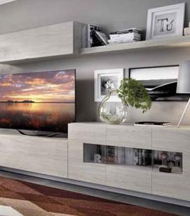 Ambiente de salón modelo DUO 50 estilo moderno de RIMOBEL