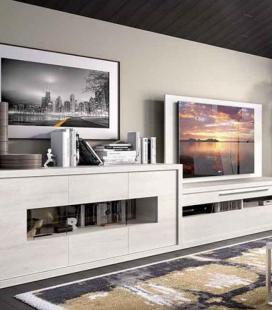 Ambiente de salón modelo DUO 49 estilo moderno de RIMOBEL