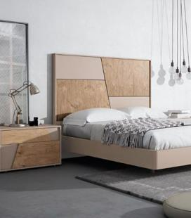Dormitorio de matrimonio Collage corto de MESEGUE