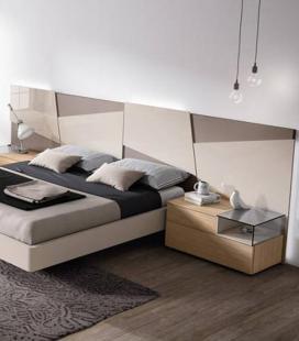 Dormitorio de matrimonio tetris