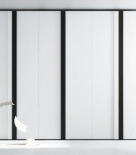 Armario puerta abatible modelo IRIS serie NO LIMITS de JJP