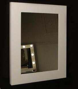 Espejo de Maquillaje lacado rectangular