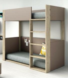 Litera infantil Vitta 2 camas de Tegar Mobel