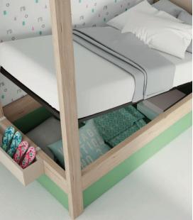 Cama canapé Canopy