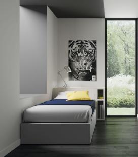 Habitación juvenil con camas cubo