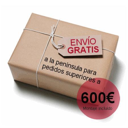 Aristamobiliario te lo envia gratis para todos los pedidos desde 600€